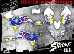 Stroke Dekor für Suzuki Quads