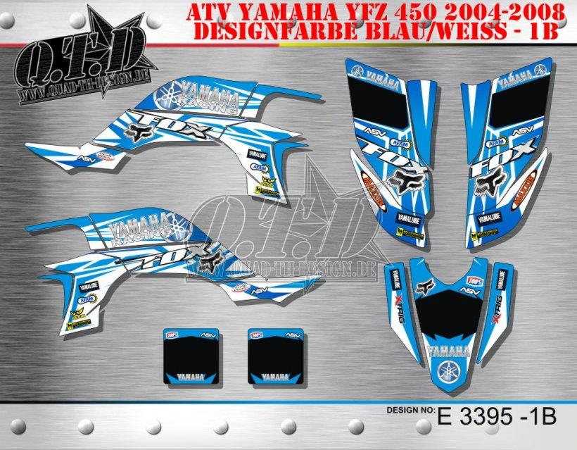 Yamaha Racing Fox E3912, E3395, E3462, E4154, E4145 & E3735 für Yamaha Quads