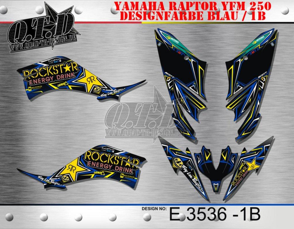 E3518, E3534, E3535, E3883 & E3536 für Yamaha Quads