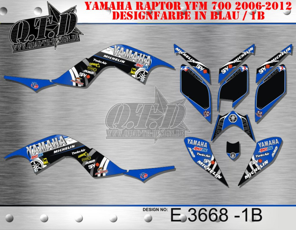 E3850, E3668, E3679, E4099 für Yamaha Quads