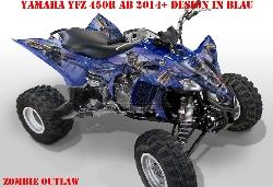 Zombie Outlaw für Yamaha Quads