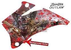 Zombie Outlaw Splatter für Yamaha ATVs ab 2015+