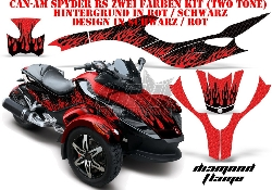 Diamond Flame für die CAN-AM Spyder