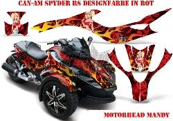 Motorhead Mandy für die CAN-AM Spyder