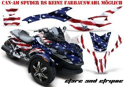 Stars N Stripes für die CAN-AM Spyder