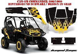 Diamond Flame für CAN-AM UTV