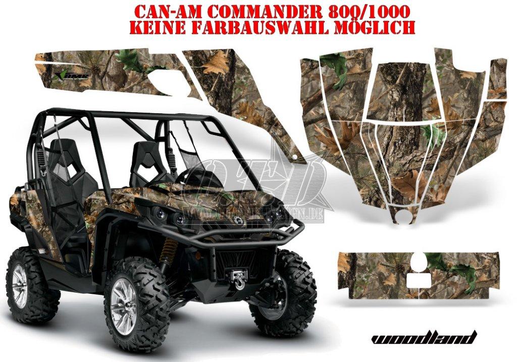 Real Camo Designs Fur Can Am Utv