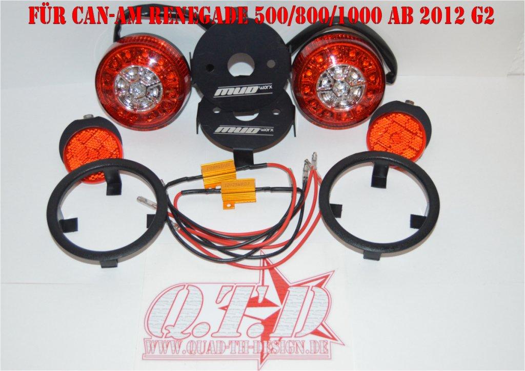 Mud Worx LED Swap Rückleuchten Kit für CAN-AM Renegade G2