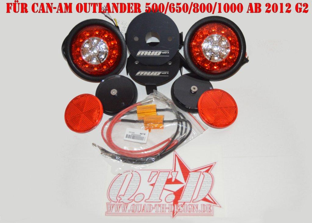 Mud Worx LED Swap Rückleuchten Kit für CAN-AM Outlander G2