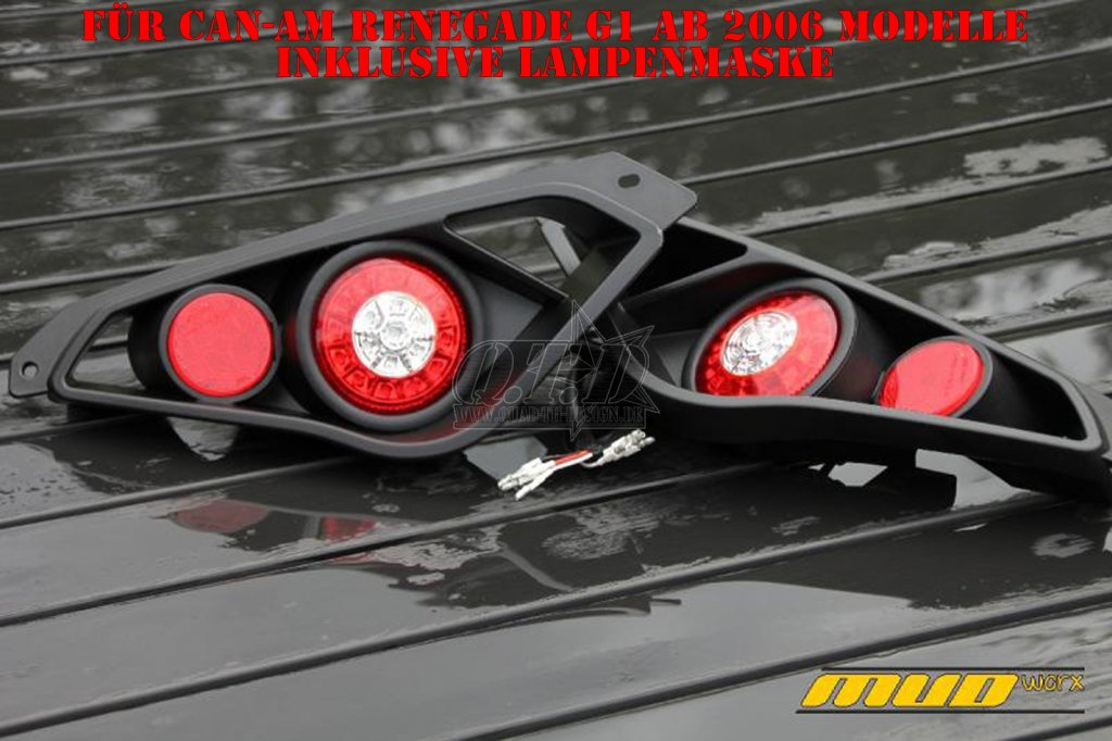 Mud Worx LED Komplett Rückleuchten Kit für CAN-AM Renegade G1