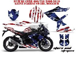 Stars N Stripes für die Suzuki Street Bikes
