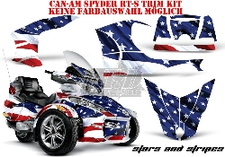 3. AMR Designs für die CAN-AM Spyder RT & RT-S Trim Kit