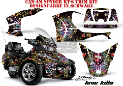 4. AMR ED-Hardy Designs für die CAN-AM Spyder RT & RT-S Trim Kit