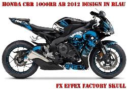 FX - Factory Effex Skull für Honda Sport Bikes