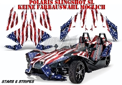 Stars N Stripes für Polaris Slingshot