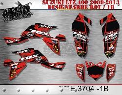 E3704, E4191 & E3981 FOX für Suzuki Quads