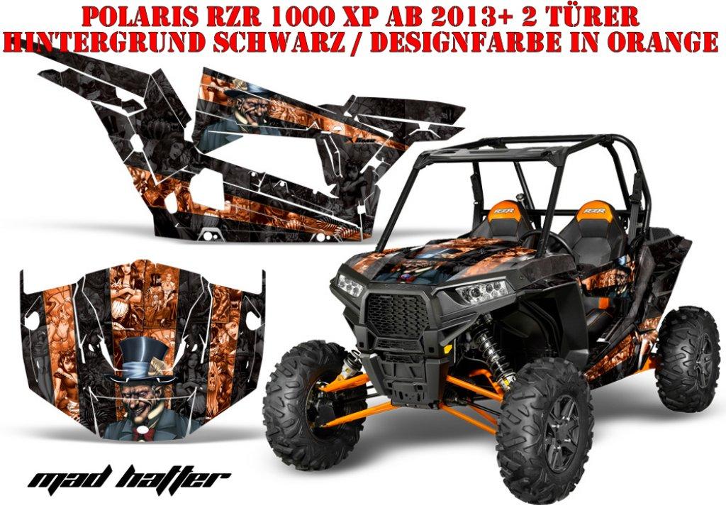 Mad Hatter für Polaris UTV RZR 900S & 1000 XP