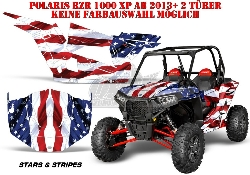 Stars N Stripes für für Polaris UTV RZR 900S & 1000 XP