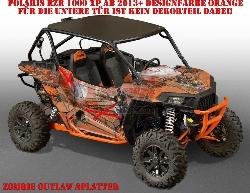 Zombie Outlaw Splatter für die Polaris UTV RZR 900S & 1000 XP