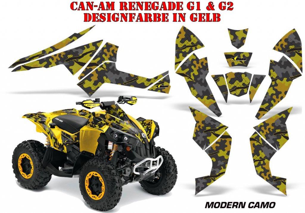 Sonderpreis: Modern Camo für CAN-AM Renegade in Gelb