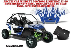 Diamond Flame für Arctic Cat UTV