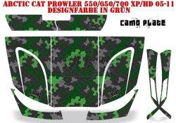 Camoplate für Arctic Cat UTV