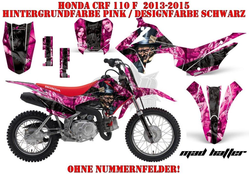 Mad Hatter für Honda MX Motocross Bikes
