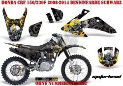Motorhead für Honda MX Motocross Bikes