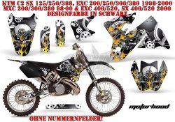 Motorhead für KTM MX Motocross Bikes