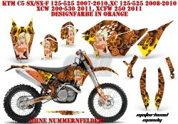 Motorhead Mandy für KTM MX Motocross Bikes