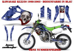 Bone Collector für Kawasaki MX Motocross Bikes