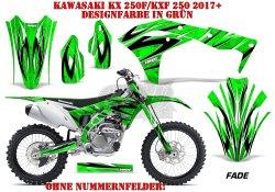 Fade für Kawasaki MX Motocross Bikes