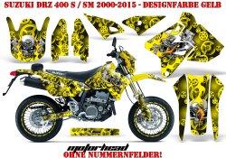 Motorhead für Suzuki MX Motocross Bikes