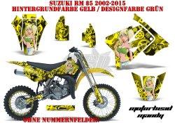 Motorhead Mandy für Suzuki MX Motocross Bikes