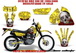 Bone Collector für Suzuki MX Motocross Bikes