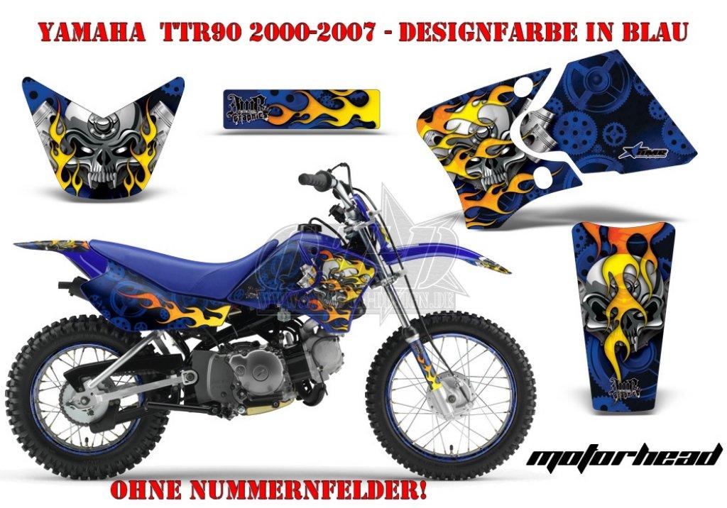 Motorhead für Yamaha MX Motocross Bikes