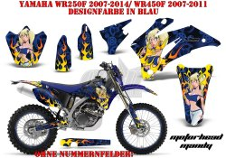 Motorhead Mandy für Yamaha MX Motocross Bikes