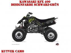 Kutvek Camo Dekor für Kawasaki Quads