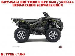 Kutvek Camo Dekor für Kawasaki ATVs
