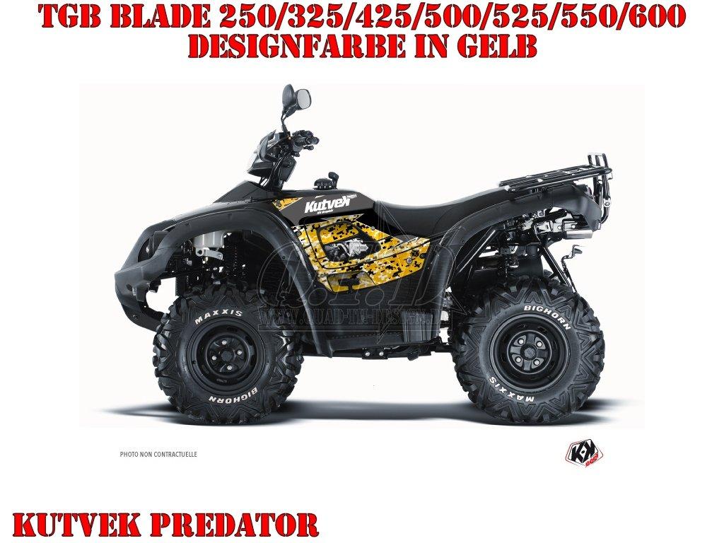 Kutvek Predator Dekor für TGB ATVs