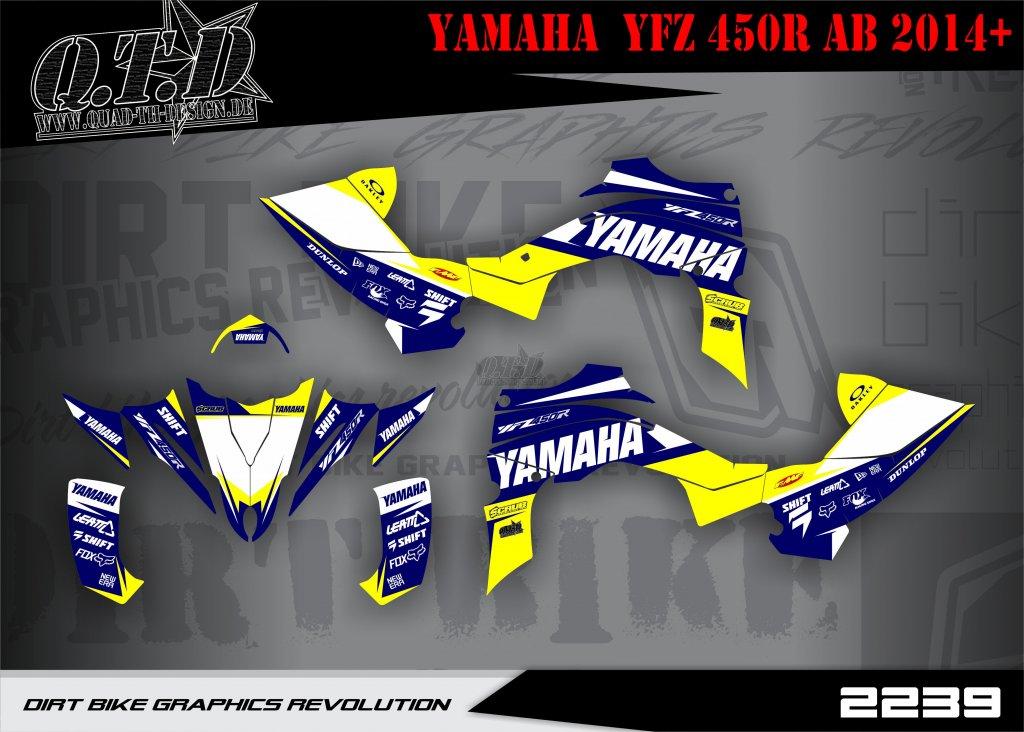 SO2239 & SO2249 Dekor für Yamaha YFZ Quads