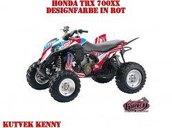 Kutvek Kenny Dekor für Honda TRX 700xx