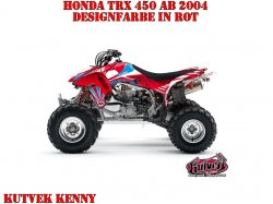 Kutvek Kenny Dekor für Honda Quads