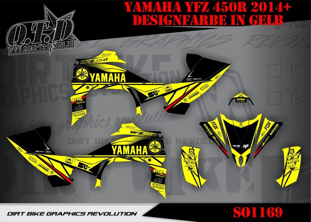SO1169 Dekor für Yamaha YFZ Quads