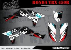 SO2532 Dekor für Honda TRX 450R