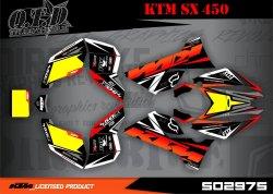 SO2975 Dekor für KTM Quads