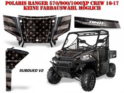Subdued V2 für Polaris UTV