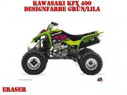 Kutvek Eraser Dekor für Kawasaki Quads