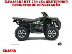 Kutvek Eraser Dekor für Kawasaki ATVs