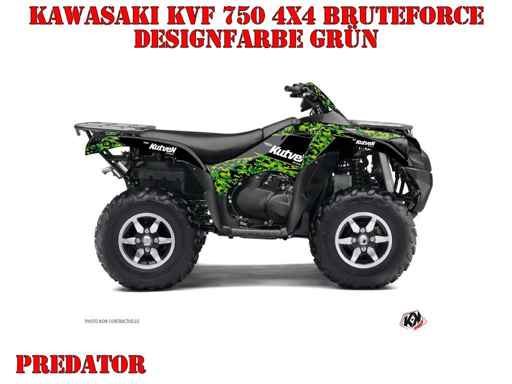 Kutvek Predator Dekor für Kawasaki ATVs